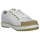 Women's Crossover Golf Shoes - White with Tan (Special Offer)