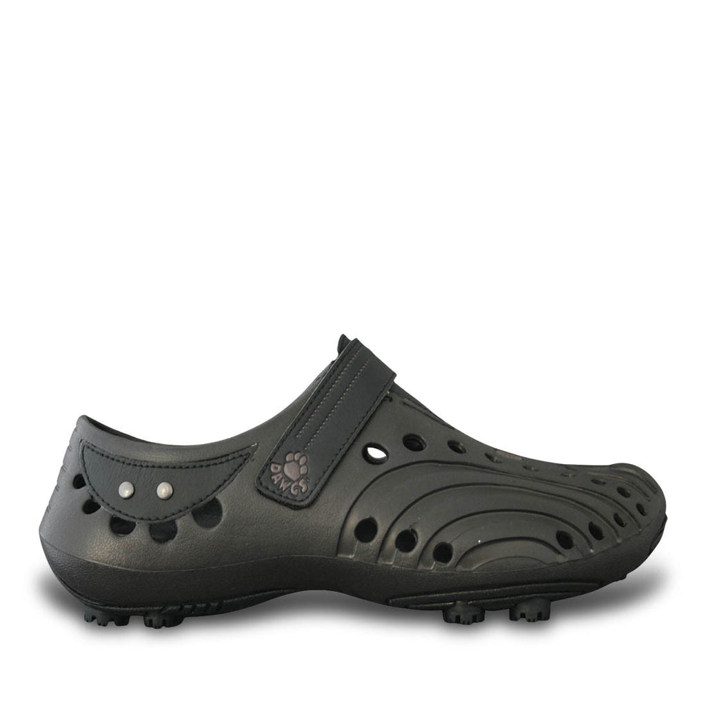 Boys' Spirit Golf Shoes - Dark Brown with Black