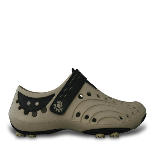 Men's Spirit Golf Shoes - Tan with Black