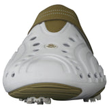 Men's Spirit Golf Shoes - White with Tan