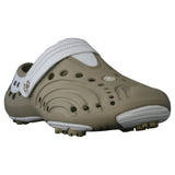 Women's Spirit Golf Shoes - Tan with White (Special Offer)