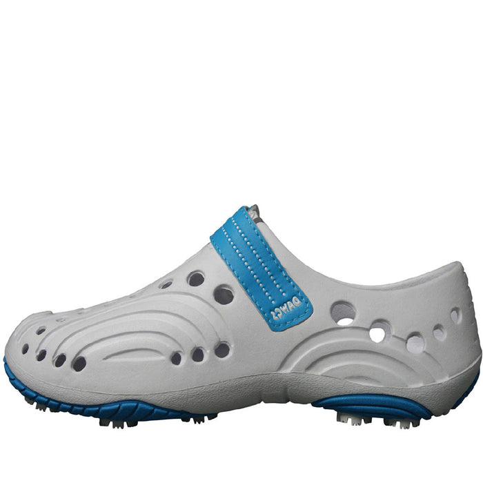 Women's Spirit Golf Shoes - White with Peacock
