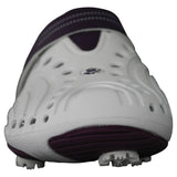 Women's Spirit Golf Shoes - White with Plum
