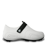 Women's Ultralite Golf Shoes - White with Black