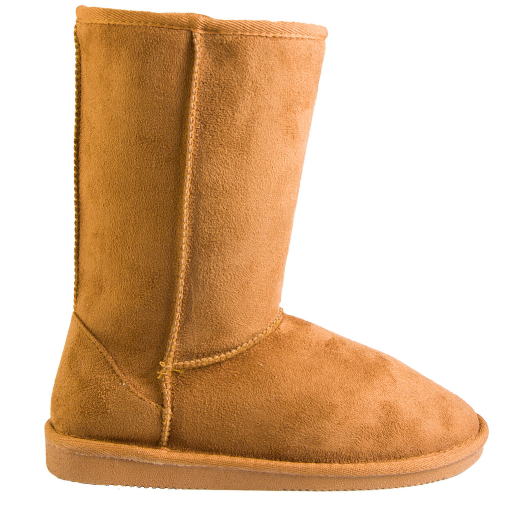 Hounds Women's 9-inch Microfiber Boots - Chestnut