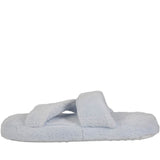 Hounds Women's Fluffy Z Slippers - Baby Blue