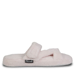Hounds Women's Fluffy Z Slippers - Soft Pink