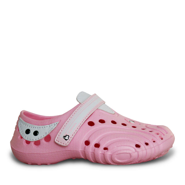 Hounds Toddlers' Ultralite Shoes - Soft Pink with White