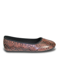 Women's Kaymann Ballet Flats - Brown Diamondback