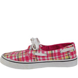 Women's Kaymann Boat Shoes - Pink Plaid