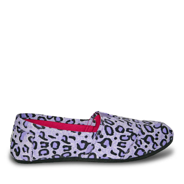 Women's Kaymann Exotic Loafers - Purple Leopard Print