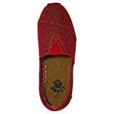Women's Kaymann Frost Loafers - Red
