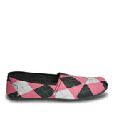 Women's Loudmouth Kaymann Loafers - Pink and Black