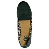 Women's Kaymann Smoking Slippers - Black