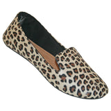 Women's Kaymann Smoking Slippers - Leopard Print