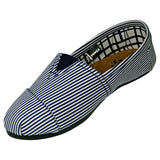 Women's Kaymann Canvas Loafers - Blue Stripes