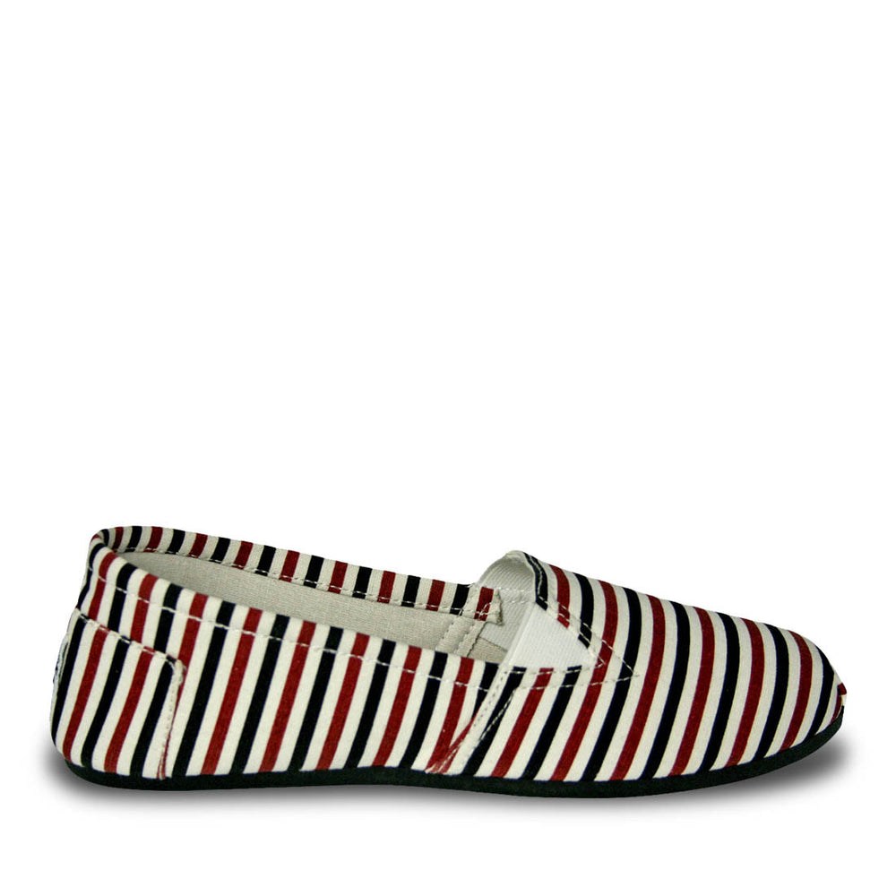 Women's Kaymann Canvas Loafers - Multicolor Stripes
