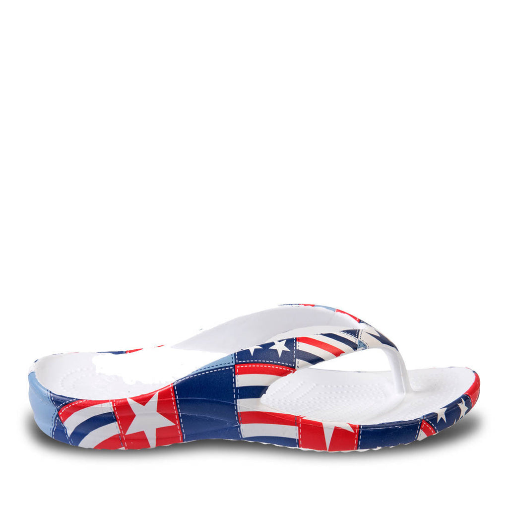 Toddlers' Loudmouth Flip Flops - Betsy Ross