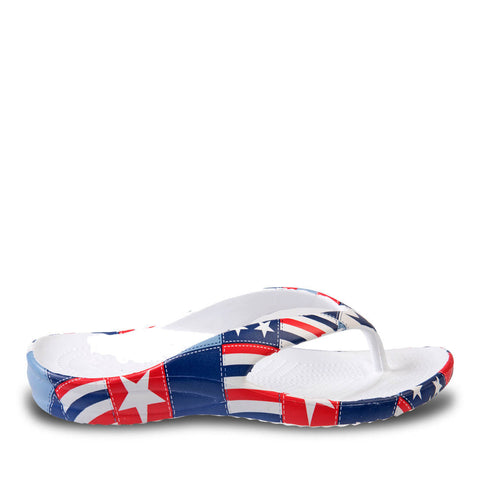 Toddlers Loudmouth Flip Flops - Betsy Ross