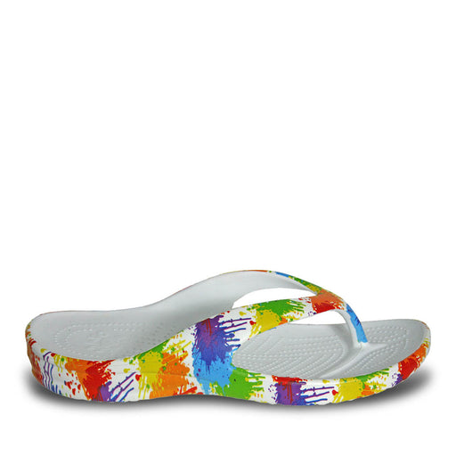 Women's Loudmouth Flip Flops - Drop Cloth
