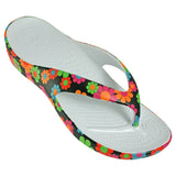 Women's Loudmouth Flip Flops - Magic Bus (Special Offer)