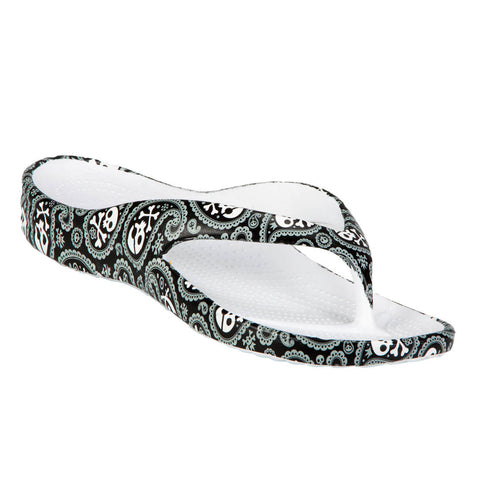 DAWGS Women's Loudmouth Flip Flops Shiver Me Timbers Size 7 3lRefdw
