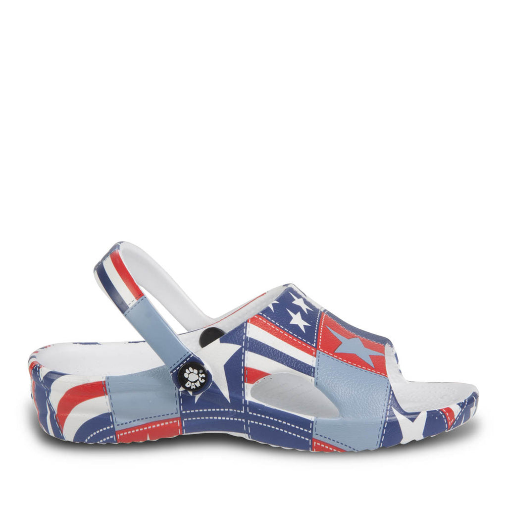 Toddlers' Loudmouth Slides - Betsy Ross