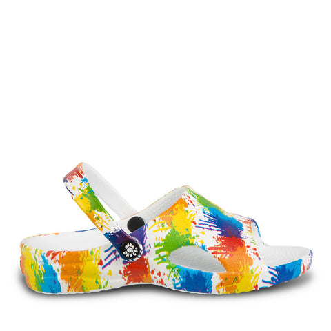 Toddlers Loudmouth Slides - Drop Cloth
