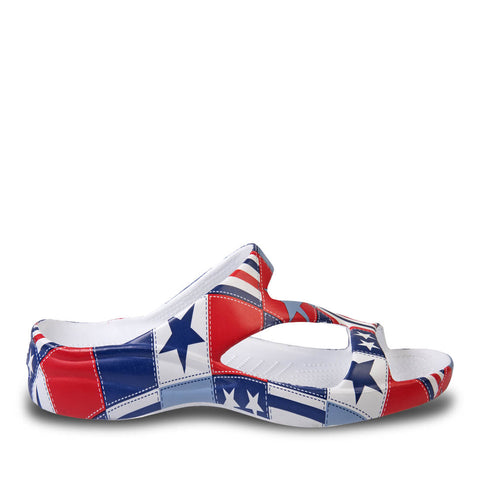 Kids Loudmouth Z Sandals - Betsy Ross