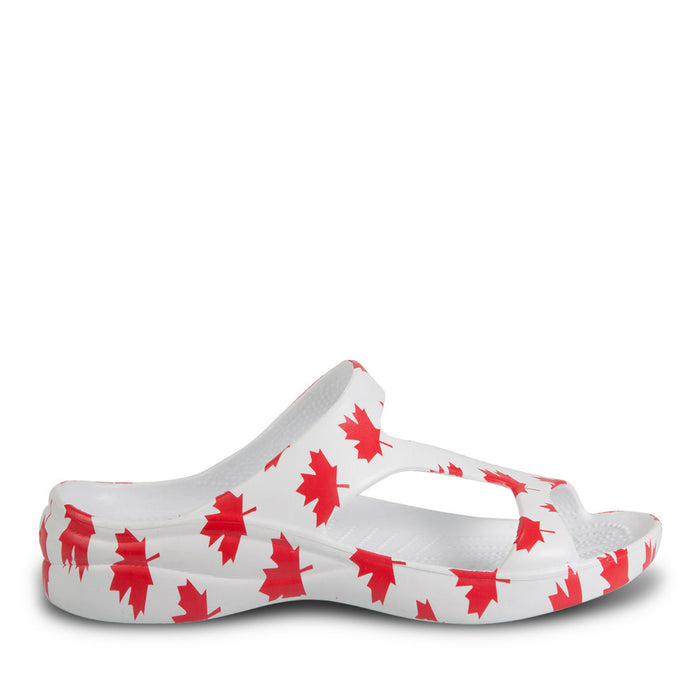 75ce3b1b6 Kids  Z Strap Sandals - Canada (White Red) — USA DAWGS