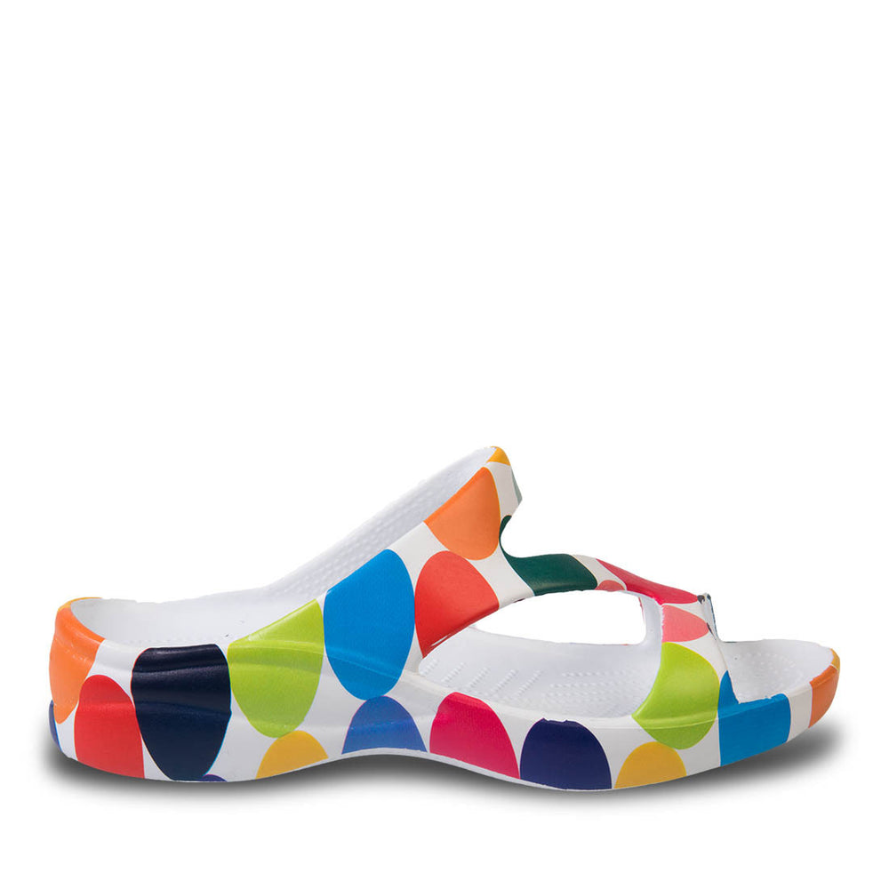 Women's Loudmouth Z Sandals - Disco Balls