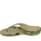 Men's Mossy Oak Flip Flops - Breakup Infinity