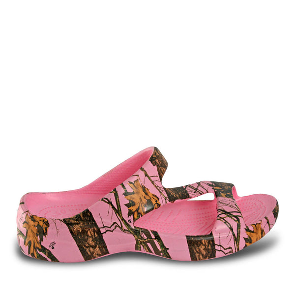 Women's Mossy Oak Z Sandals - Pink Breakup Infinity