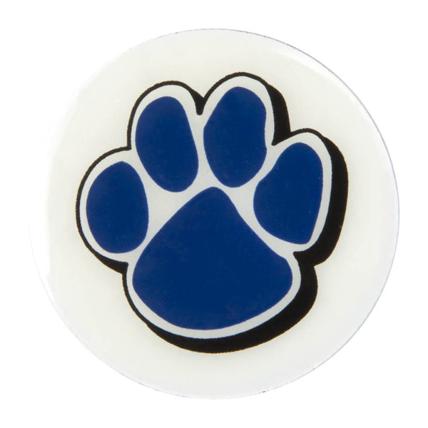 Metal School Dawg Tags Shoe Charms - Godby Cougars
