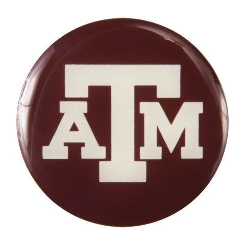 Metal School Dawg Tag Shoe Charm - Texas A&M