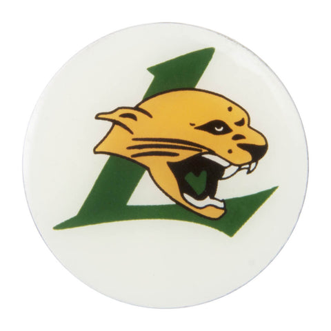 Metal School Dawg Tag Shoe Charm - Lecanto High School Panthers