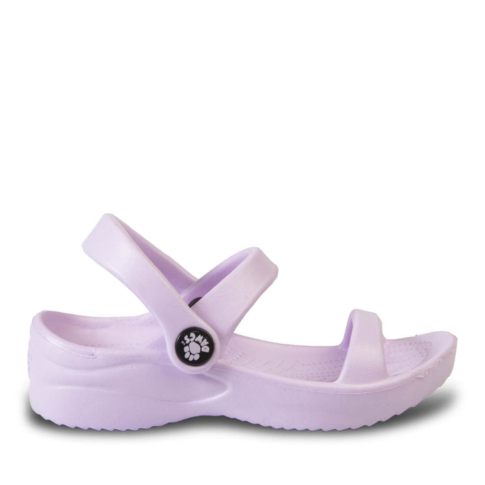 Toddlers' 3-Strap Sandals - Lilac