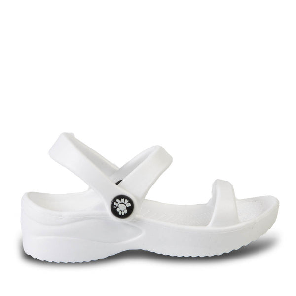 Toddlers' 3-Strap Sandals - White