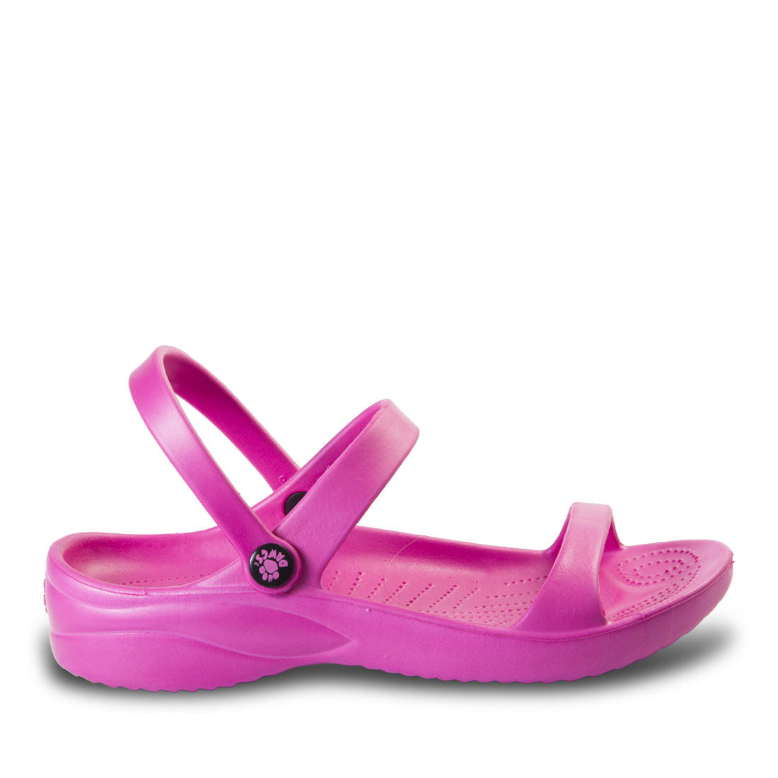 Image of Women's 3-Strap Sandals - Hot Pink