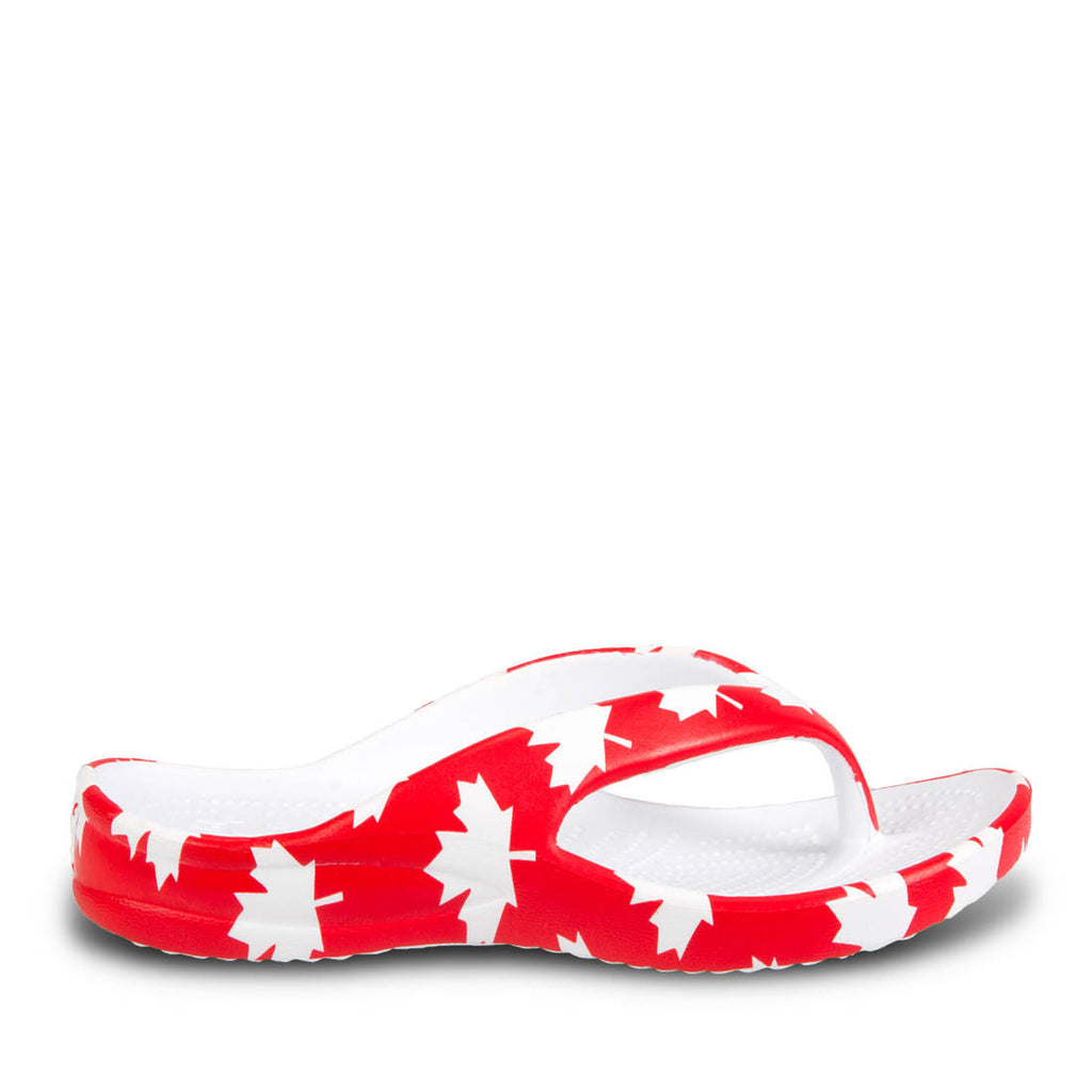 Toddlers Flip Flops - Canada Redwhite  Usa Dawgs-5500