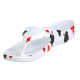 Women's Flip Flops - Hearts, Diamonds, Spades, Clubs