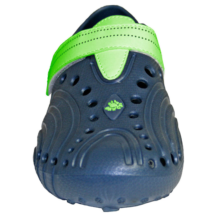 Men's Ultralite Spirit Shoes - Navy with Lime Green