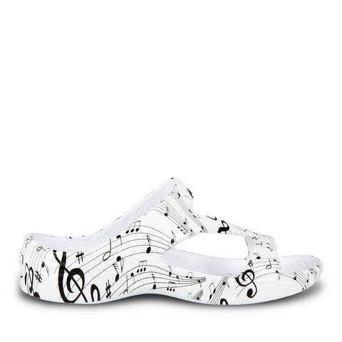 Women's Z Sandals - Musical Notes