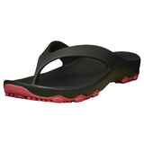 Boys' Premium Flip Flops - Black with Red (Special Offer)