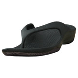 Women's Premium Flip Flops - Black with Black