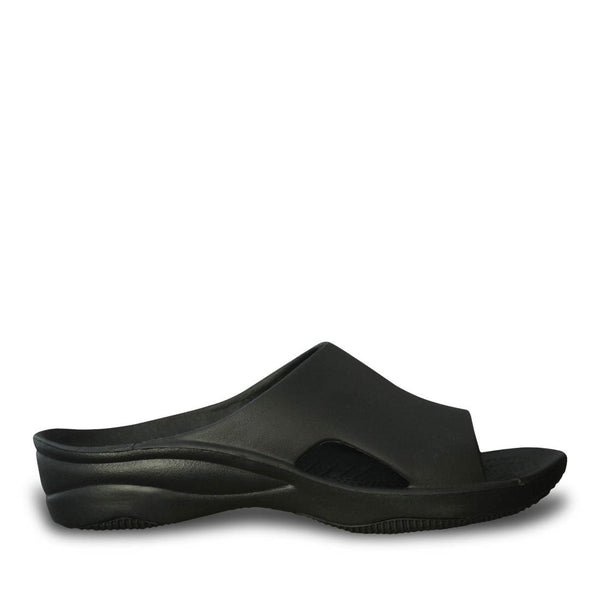 Women's Premium Slides - Black with Black (Special Offer)