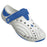 Boys' Premium Spirit Shoes - White with Royal Blue