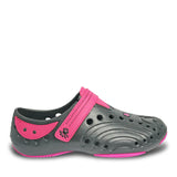 Girls' Premium Spirit Shoes - Black with Hot Pink