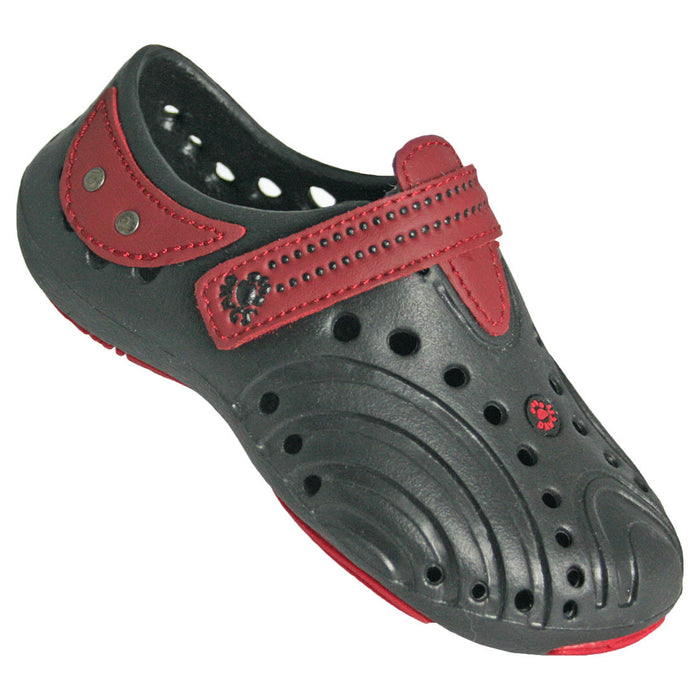 Girls' Premium Spirit Shoes - Black with Red