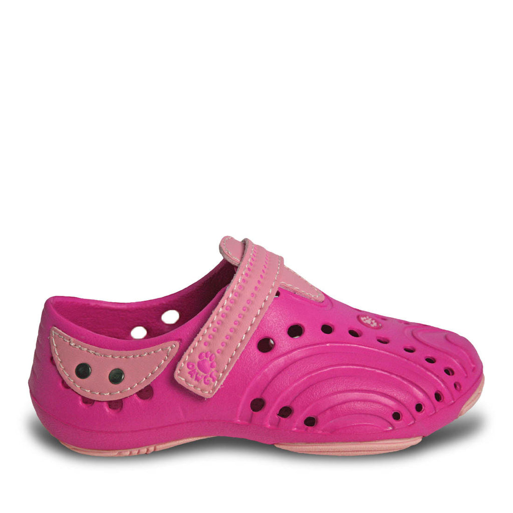 Girls' Premium Spirit Shoes - Hot Pink with Soft Pink